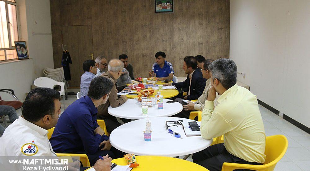 برگزاری جلسه پیش از بازی فولاد+تصاویر
